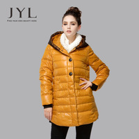 2013 Winter brand new design quality 90% white duck lovely lace hem outwear women down coats,black solid warm jacket for women