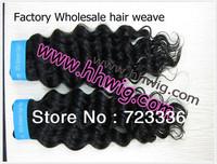 Free Shipping!!!Queen Hair Virgin Malaysian Deep Wave  Weave Hair Extensions 100%Human Queen Hair 3pcs In Stock!