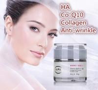 free shipping skin care Tibetan herb moisturizing hyaluronic acid Collagen anti-aging  Co-Q10 repair face day night cream