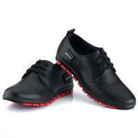 Free Shipping 2013 Brand New Men Oxfords Shoes High Quality Wholesale Price Fashion Leisure Genuine Leather Sneakers For Men