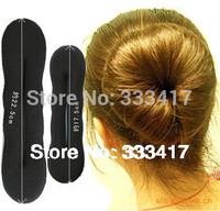 Women Hair Maker Ladies Hair Tools Ball Styling Base Accessory Hair Accessory Hair Bun Donut Set 4pcs L+S Magic Sponge Hot