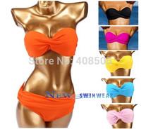 2013 Women Bikini Swimwear push up pad Free Shipping Sexy Fashion Good Quality Swimsuit gift!