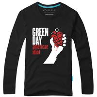 Green day Magic 100% cotton fashion long-sleeve T-shirt male
