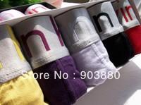 Free shipping High Quanlity 11 color men's underwear men's Boxer brief underpants men short pants 4pcs/lot