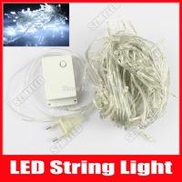 LED String Lights 8m 52 LED Christmas Strings Natal Home Party Wedding Luminaria Decoration Lamps AC 110V 220V Cool White RGB