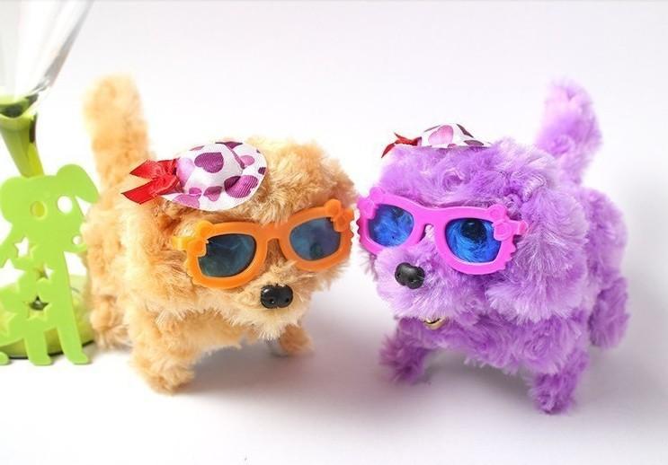 Plush toys Smart universal dog toys electronic toys 1pcs manufacture selling high quality electronic dog(China (Mainland))