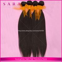 Indian Straight Cheap Rosa Hair Sara Hair products Indian Weave Mix Length 3pcs lot Virgin Human Hair Extension