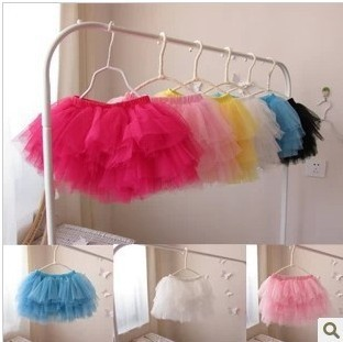 free shipping Summer candy color puff  skirt  child baby girls tutu  girls tutu Hot baby tutu skirt super cheap  petty clothes