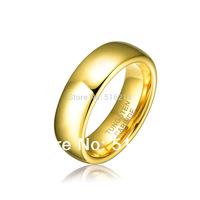 Free Shipping 6MM Tungsten Carbide aneis femininos ,Wedding/Engagement Bands Jewelry, aliancas de casamento RIng TU025R