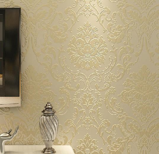 Acquista non tessuto goffrato camera da - Papel decorativo para paredes ...