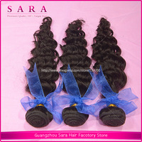 Rosa Hair Products Unprocessed Brazillian Deep Wave Virgin Hair Curly Luvin Human Hair 3pcs mixed lot  Free Shipping