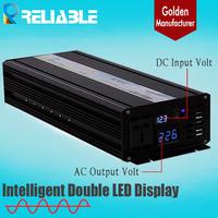Reliable 2500W Pure Sine Wave Inverter,12v/24v/48vdc,120v 220v,230v,2500w Off Grid  Power Converter Solar System Power Inverter