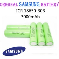 4pcs/lot 3.7V 3000mAh New Original SAMSUNG 18650 Rechargeable Battery ICR18650-30B Safe Batteries Industrial Use Free Shipping