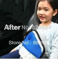 2pcs/Lot  Hot Sale Free Shipping car safety belt adjust device baby child safety belt protector seat belt positioner 3 colors