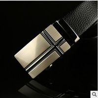 Free shipping Fashion new men's casual genuine leather automatic buckle belt