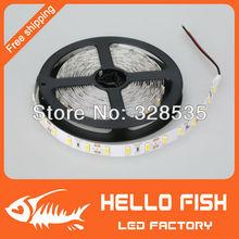 5m 300 LED 5630 SMD 12V flexible light 60 led/m,LED strip, white/warm white(China (Mainland))