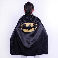 Children or kids gift present cosplay Batman Cape, poncho,cloak, robe,mantle,dress smock, scarves,decorate,manteau,costume,,