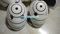 Free Shipping Naruto Akatsuki syaringan UCHIHA OBITO Tobi Cosplay props hardening helmet mask  resin face hard
