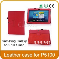 "Samsung Galaxy Tab 2 10.1"" P5100/P5110 Folio PU Leather Case, Cover"