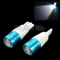 10pair T10 7W LED for Cree Q5 Car Corner Reverse Backup Light Bulb Lamp DC12V-30V Free Shipping TK0209