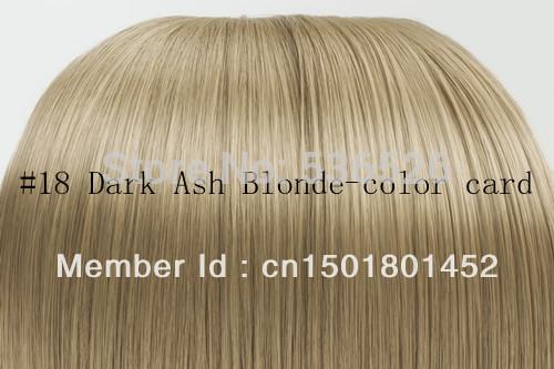 Other 18 20 22 24 #18 Blonde10pcs 160g 10pcs/set 9pcs set 17 clips 18 20 22 24 full head set 18 ash blonde 100