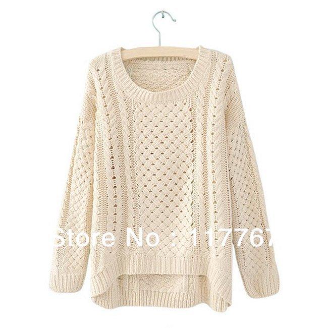 самый простой женский свитер схема