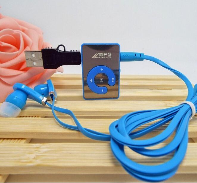 MOQ:1PC clip sport mini MP3 music player/players(China (Mainland))