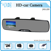 "Mirror Car DVR rearview mirror Rearview Camera+ G-Sensor + 2.7"" Screen +IR+ 120 degree Angle + Motion Detection+Free Shipping"