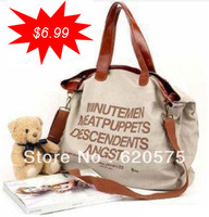 2013 New Fashio women Messenger  bags Canvas messenger bags Free Shipping