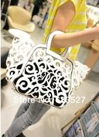 Women Handbag Messenger Bags Women Famous Brands Women Leather Handbags tessel Vintage Korean Fashion hollow Bag Totes WB2016