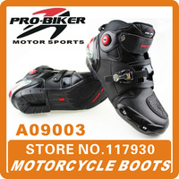 2013 New Pro-biker A09003 racing boots automobile racing shoes motorcycle racing shoes off-road motorcycle boots Free shipping