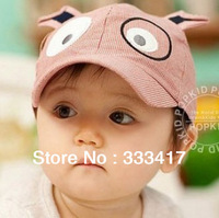 Unisex Animal Dog Shaped Knitted Baby Caps Cute Boys And Girls Autumn And Winter Warm Hats Kid Cap Children Hat 3 Colors[700033]