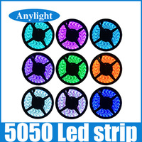5050 waterproof led strip LED Strip 5M/roll red green blue white warm white yellow WLED07