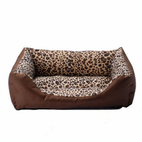 Free Shipping 2013 New Fashion Leopard Print Pet Bed/Pet House