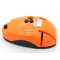 Free Shipping Mouse Type 2 Line Mini Laser lLvel,  5mW Red Laser Level