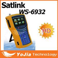 Original Satlink WS-6932 HD Satellite Finder Meter Satlink 6932 HD DVB-S/DVB-S2 ws6932 meter 6932 finder free shipping