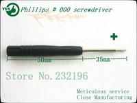 2500pcs/lot hand tools, screwdriver, Phillips # 000 iphone demolition professional tool set, precision magnetic