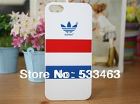 New arrival fashion pc case for iPhone 4/4s/ 5s,  Adi style PC phone shell free shipping Wholesale lot