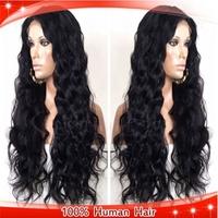 Brazilian Virgin Human Hair Body Wave Glueless Full Lace Wigs For Black Women 130-150% Density Cheap Full Lace Wigs Human Hair