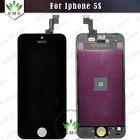 Black / White 100% original LCD For iPhone 5S LCD Display Touch Digitizer Screen With Frame Assembly Free Shipping