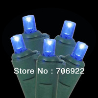 Holiday Sale Free Shipping 12 PCS UL 50L 5M Multiple 5mm Christmas LED Lights