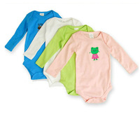 5pcs/lot For 0-24M baby bodysuits baby wear rompers free shipping best selling