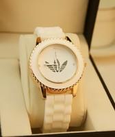 2014 Retail,Top Quality Fashion Branded Jelly Silicone Strap Sport Women's Watch,Lady Dress Wrist watch,Free Shipping