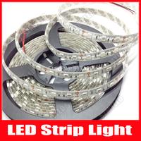 300 Leds 5m LED Strip 5050 Waterproof Light 12V LED RGB/White/Red/Green/Blue/Yellow Luminaria Luz Lamps,10m/lot, Free Shipping