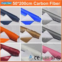 200cm*50cm Car Styling 3D DIY Car Exterior Decoration Carbon Fiber Vinyl 3M Motorcycle Car Sticker Auto Paint protection Film