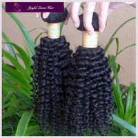 Wholesale top quality afro kinky curl,quality guaranteed natural color, 100% virgin mogolian kinky curl hair,free shipping .