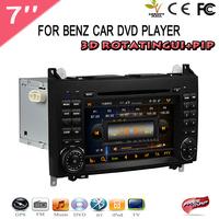 Special Car DVD For Mercedes BENZ  W169 W245 Viano Vito Car DVD GPS Navigation Bluetooth Radio Video Audio Player DHL Free ship