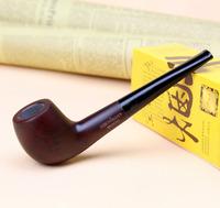 8 Tools Gift Set Smoking Pipe 15cm Straight Smoking Pipe Set Briar Genuine Wood Smoking Pipe Set