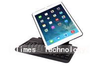 360 Degree Rotatable Wireless Bluetooth Keyboard for iPad Air , Bluetooth Keyboard Case For iPad5,free shipping
