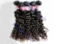 Free Shipping unprocessed chinese Virgin Hair Extensions,100% Deep Wave human Hair